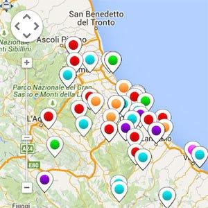 Mappa Eventi Abruzzo