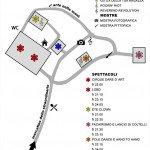 STRA' Festival degli Artisti di Strada 2016 - Collecorvino - Mappa