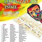 Carnevale Estivo 2016 - Francavilla al Mare - Programma