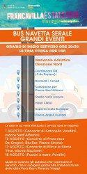 Estate 2016 - Francavilla al Mare - Bus navetta
