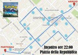 Pokémon Go 24 luglio 2016 - Pescara - Percorso