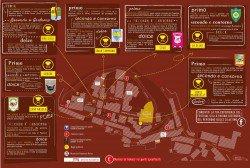 Festival Peperone Dolce di Altino 2016 - Mappa