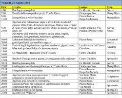 Mongolfiere nella Majella Orientale 2016 - Gessopalena - Programma2