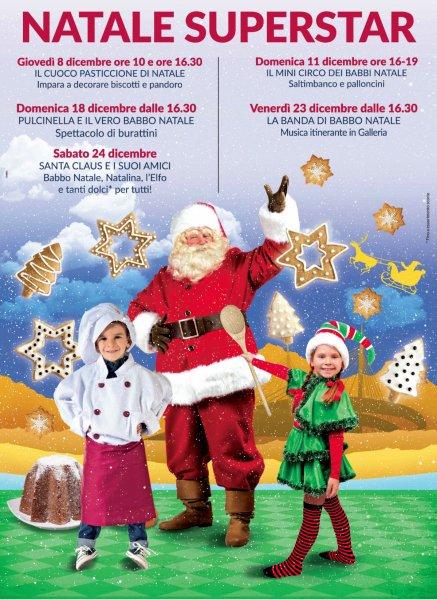 Natale Superstar al Centro Commerciale Auchan di Pescara