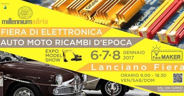 Fiera dell 39 elettronica a lanciano dal 6 all 39 8 gennaio 2017 for Fiera elettronica 2017