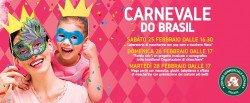 Carnevale do Brasil all'Auchan di Pescara dal 25 al 28 febbraio 2017