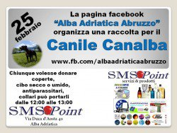 Raccolta per il Canile Canalba di Alba Adriatica il 25 febbraio 2017