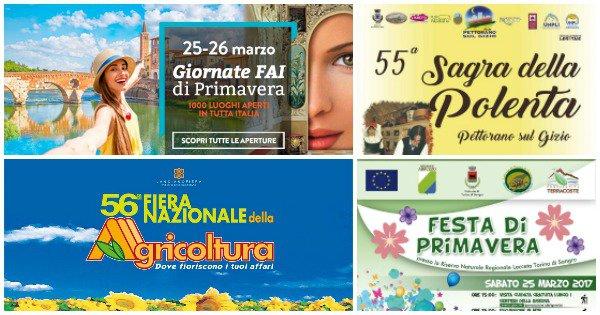 Eventi in Abruzzo dal 24 al 26 marzo 2017