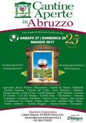 Cantine Aperte 2017 in Abruzzo il 27 e 28 maggio: tutti gli eventi