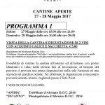 Cantine Aperte 2017 in Abruzzo il 27 e 28 maggio: tutti gli eventi 18