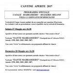 Cantine Aperte 2017 in Abruzzo il 27 e 28 maggio: tutti gli eventi 16