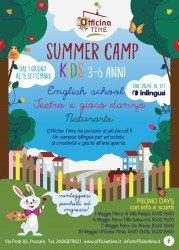 Summer Camp Kids: un campus estivo bilingua per bambini dai 3 ai 6 anni a Pescara