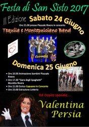 Festa di San Sisto a L'Aquila con Enrico Capuano il 24 e 25 giugno 2017 1