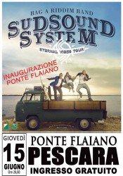I Sud Sound System a Pescara per l'inaugurazione del Ponte Flaiano il 15 giugno 2017 1