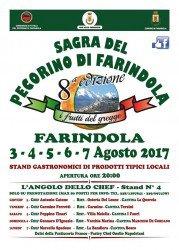 Sagra del Pecorino di Farindola dal 3 al 7 agosto 2017 1