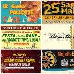 Eventi in Abruzzo dal 28 al 30 luglio 2017