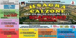 Sagra del Calzone 2017 a Scapriano, Teramo, dal 24 al 30 luglio