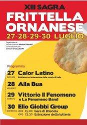Sagra della Frittella Ornanese 2017 a Colledara dal 27 al 29 luglio