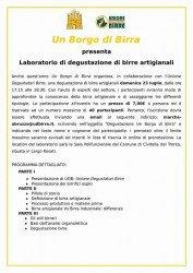 Un Borgo di Birra 2017 a Civitella del Tronto dal 17 al 23 luglio 1