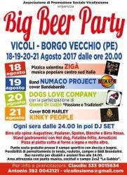Festa della Birra a Vicoli dal 18 al 21 agosto 2017 1