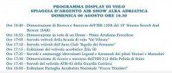 Spiaggia d'Argento Air Show 2017: le Frecce Tricolori ad Alba Adriatica