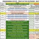 Eventi per l'Estate 2017 a Prati di Tivo e Valle del Rio Arno