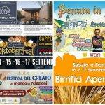 Eventi in Abruzzo dal 15 al 17 settembre 2017