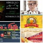 Eventi in Abruzzo dall'8 al 10 settembre 2017