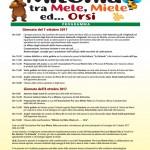 Milonia 2017: tra Mele, Miele ed... Orsi a Ortona dei Marsi il 7 e l' 8 ottobre 1