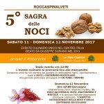 Sagra delle Noci 2017 a Roccaspinalveti l'11 e il 12 novembre