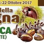 Festa della Castagna 2017 a Senarica di Crognaleto il 21 e 22 ottobre
