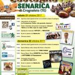 Festa della Castagna 2017 a Senarica di Crognaleto il 21 e 22 ottobre 1