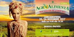 Agroalimenta 2017 a Lanciano il 25 e 26 novembre