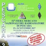 52ª Fiera del Radioamatore di Pescara il 25 e 26 novembre 2017