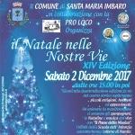 Il Natale nelle Nostre Vie a Santa Maria Imbaro il 2 dicembre 2017
