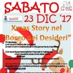 Borgo dei Desideri a Villa Santa Maria di Spoltore il 23 dicembre 2017