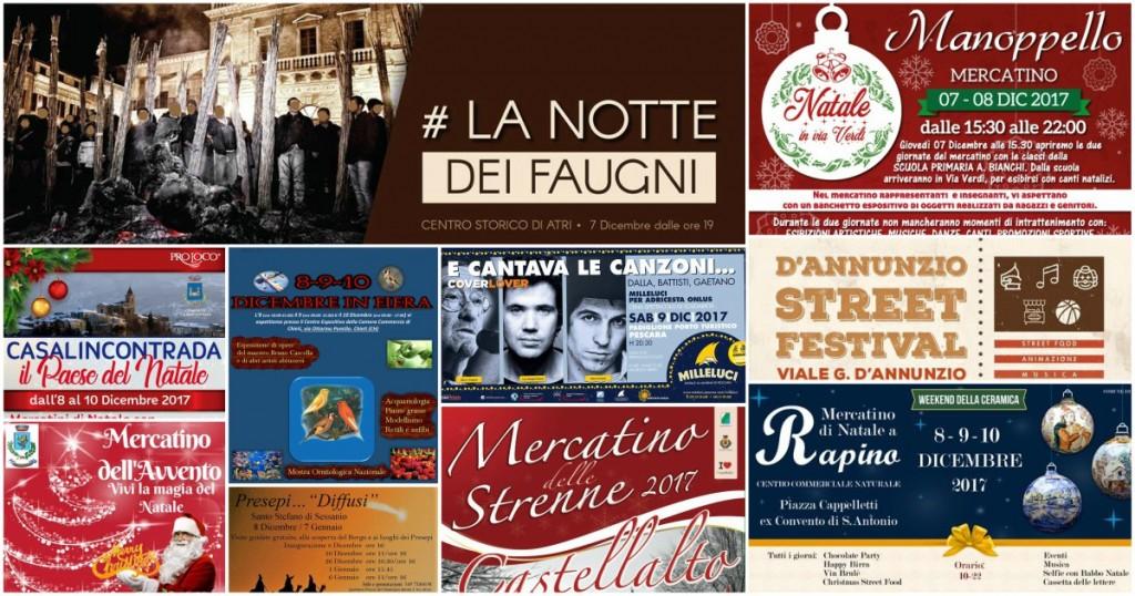 Eventi in Abruzzo dall'8 al 10 dicembre 2017 per il Ponte dell'Immacolata