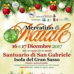 Mercatino di Natale 2017 di Isola del Gran Sasso a San Gabriele