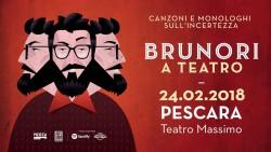 Brunori Sas a Pescara il 24 febbraio 2018