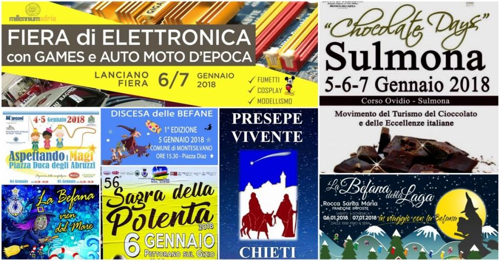 Befana 2018: gli eventi per il weekend in Abruzzo