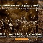 Farchie 2018 a Fara Filiorum Petri il 16 gennaio 1