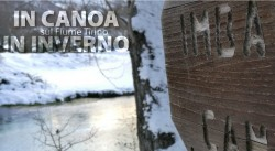 In Canoa d'Inverno sul Fiume Tirino con Il Bosso