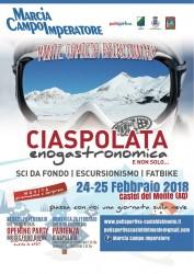 Ciaspolata Enogastronomica a Castel del Monte il 24 e 25 febbraio 2018