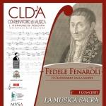 Fedele Fenaroli - I Concerti: La Musica Sacra a Lanciano il 4 marzo 2018