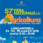 57ª Fiera Nazionale dell'Agricoltura a Lanciano dal 23 al 25 marzo 2018