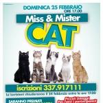 Miss & Mister Cat al Centro d'Abruzzo il 25 febbraio 2018