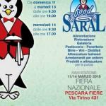Saral Food 2018 a Pescara dall'11 al 14 marzo 2