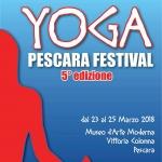 Yoga Pescara Festival dal 23 al 25 marzo 2018
