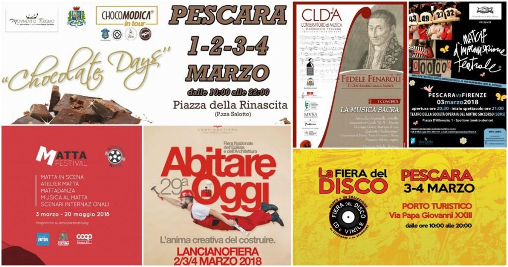 Eventi in Abruzzo dal 2 al 4 marzo 2018