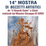 Mostra di Bozzetti Artistici di Giuseppe Di Iorio a Chieti dal 26 al 31 marzo 2018